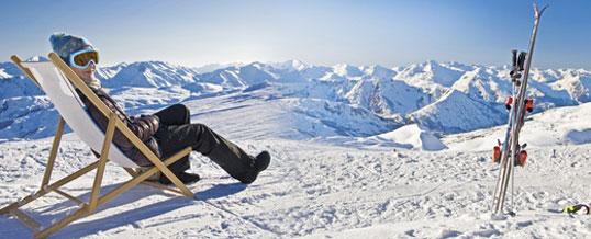 ски в планината